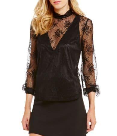 Long black dress size 0 yoga