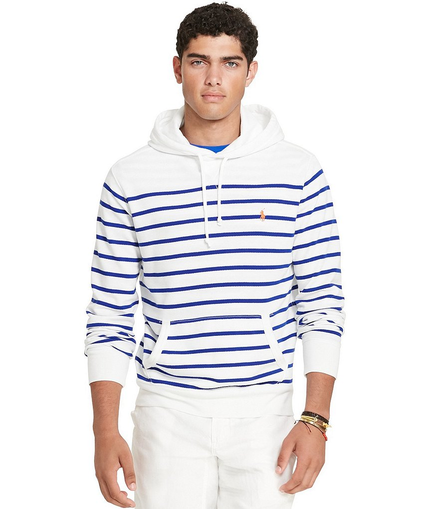 Polo Ralph Lauren Horizontal Striped French Terry Hoodie