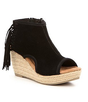 Minnetonka Blaire Wedge Sandals