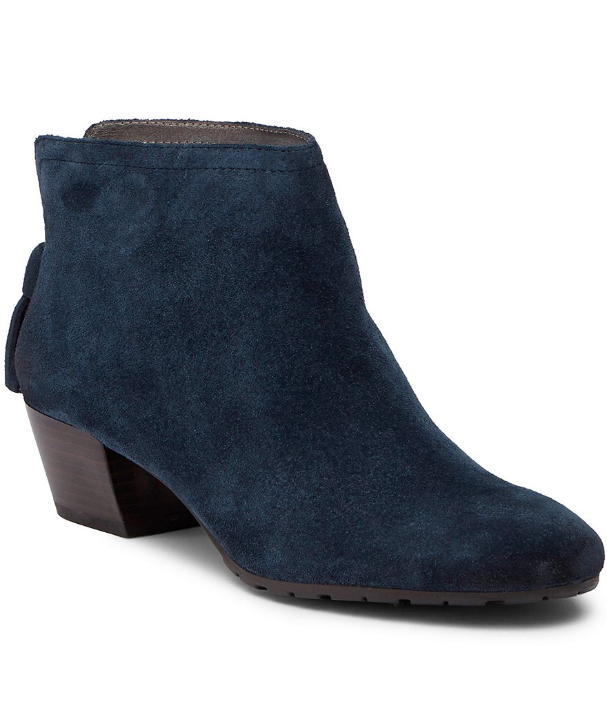 Kenneth Cole Reaction Pil-Age Tasseled Back-Zip Booties
