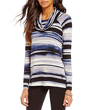 Cupio Cowlneck Long Sleeve Pullover Sweater