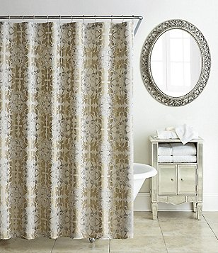 Waterford Olivette Medallion Shower Curtain