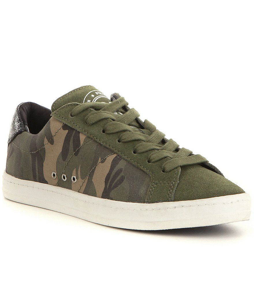 Steve Madden Blast Camo Lace up Sneakers