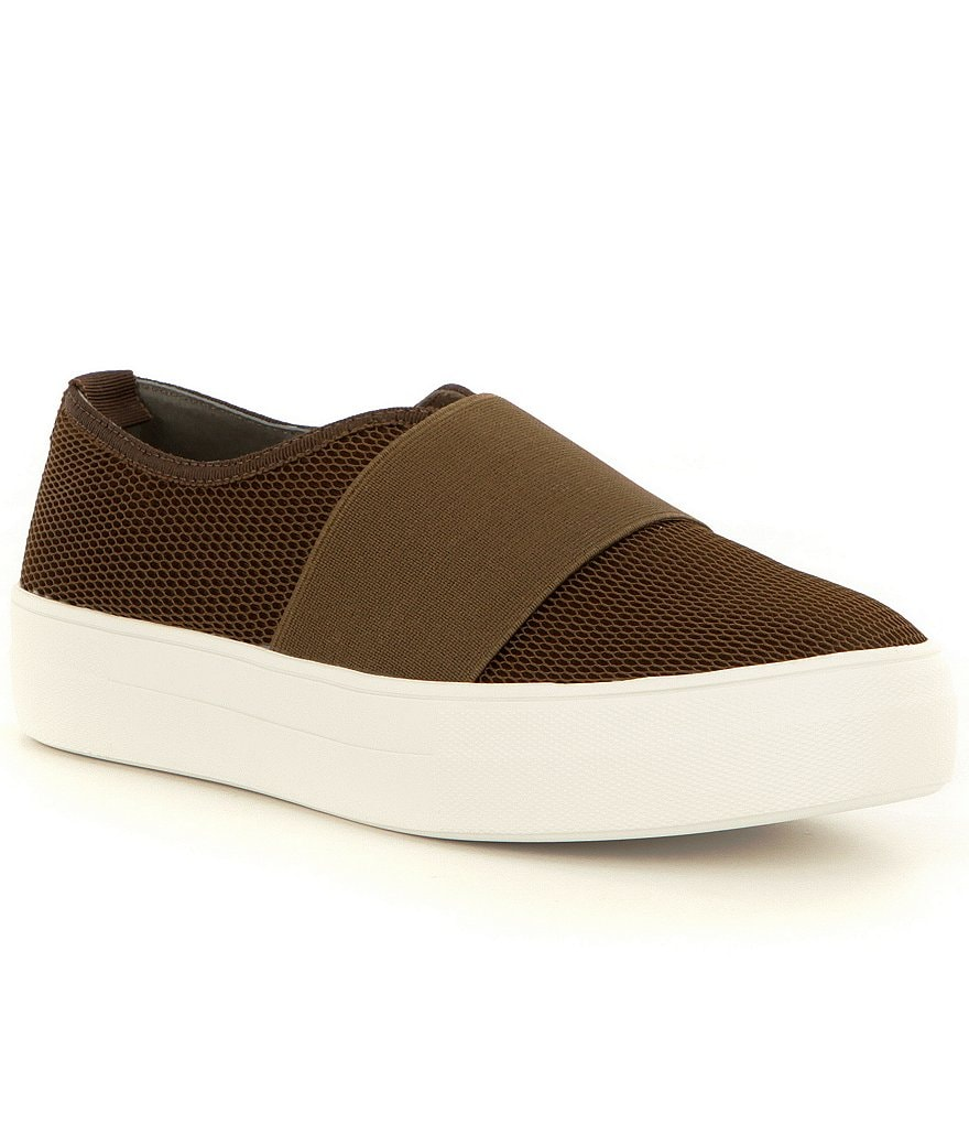 Steve Madden Glenn-M Slip-On Mesh Sporty Sneakers