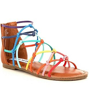 Steve Madden Girl´s T-Mistic Multi-Colored Banded Sandals