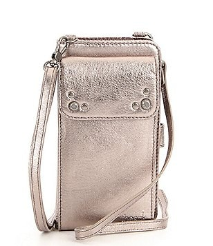 The Sak Sanibel Metallic Phone Wallet