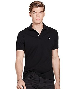 Polo Ralph Lauren Custom-Fit Stretch Mesh Short-Sleeve Polo Shirt