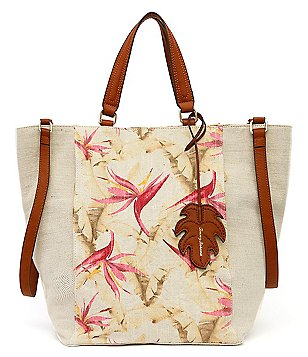 Tommy Bahama Coral Reef Convertible Linen Tote