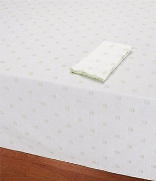 Southern Living Fil Coupé Dot Cotton Table Linens
