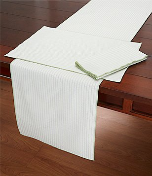 Southern Living Striped Seersucker Table Linens