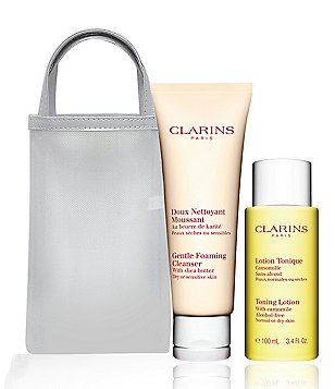 Clarins Cleansing Duo for Dry or Sensitive Skin