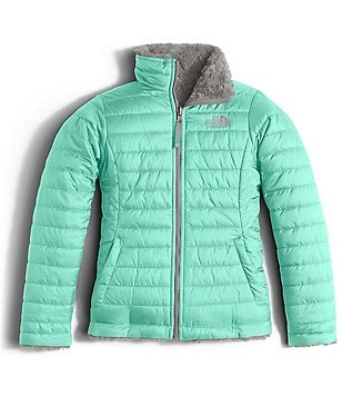 The North Face Little/Big Girls 5-18 Reversible Mossbud Swirl Jacket