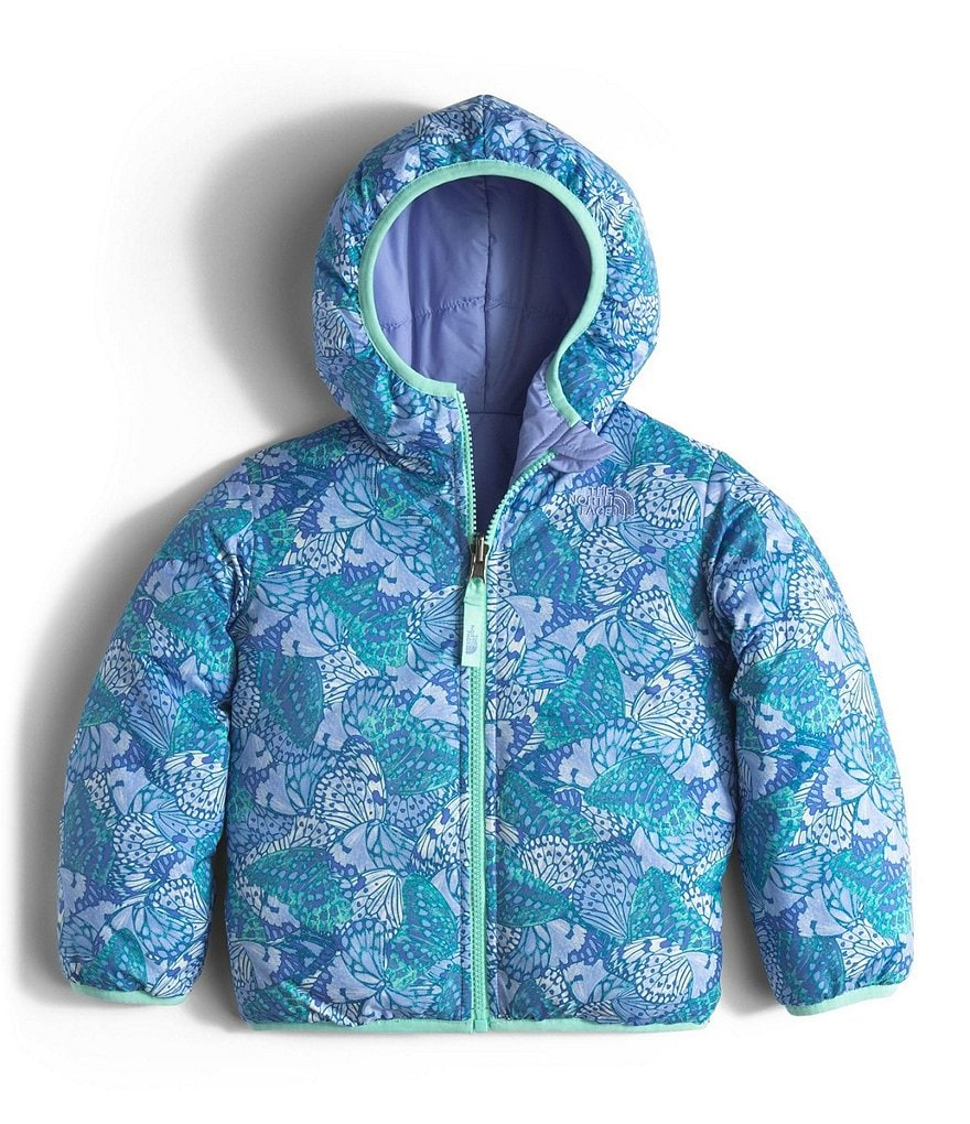 The North Face Little Girls 2T-4T Reversible Perrito Jacket