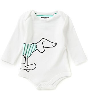 Joules Baby Boys Newborn-12 Months Baby Snazzy Screen Print Bodysuit
