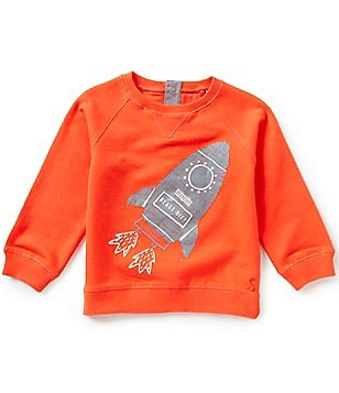 Joules Baby/Little Boys 12 Months-3T Rocket Screenprint Sweatshirt