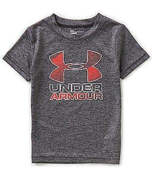 Under Armour Little Boys 2T-7 Big Logo Short-Sleeve Tee