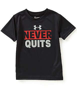 Under Armour Little Boys 2T-7 Never Quits Short-Sleeve Graphic Tee