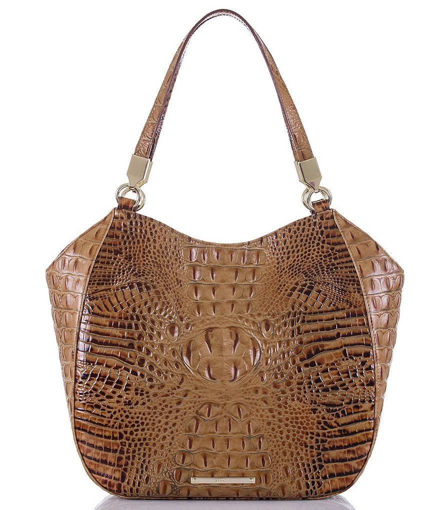 Brahmin Toasted Almond Collection Marianna Tote