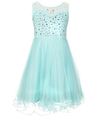 Tween party dresses 7 to 16 for any special occasion for little girls embellished with sequins and beads. Fast shipping too.