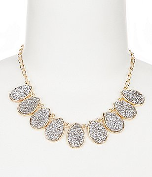 Anna & Ava Fine Crystal Rocks Collar Necklace