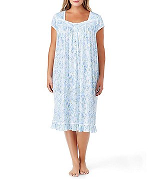 Eileen West Plus Botanical Floral Nightgown