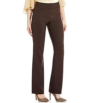 Antonio Melani Minnie Bi-Stretch Flat Front Straight Leg Pant