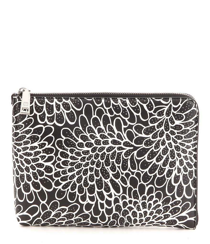 Ivanka Trump Rio Dahlia-Print Clutch with Charger