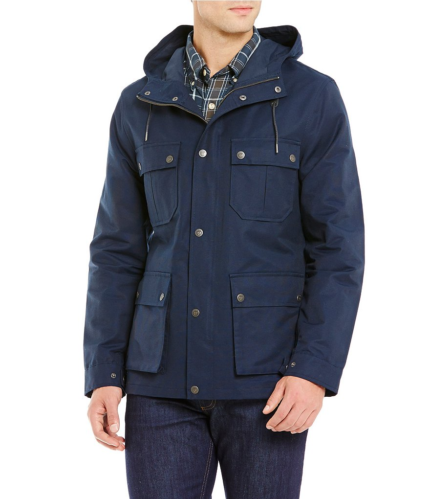 Cremieux Mariner Canvas Hooded Parka