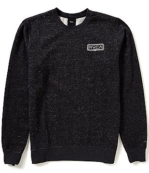 RVCA Double Rope RVCA Embroidered Fleece Crewneck Sweatshirt