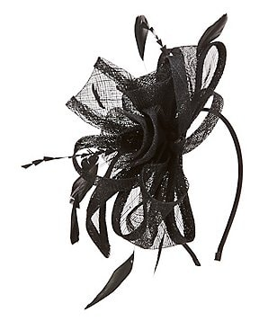 Kate Landry Rosette Fascinator Hat
