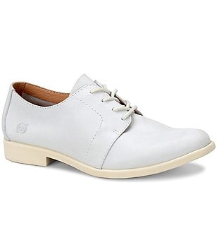 Born Passi Premium Leather Lace Up Oxfords