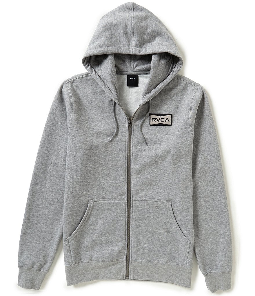 RVCA Reds Patch Zip-Up Hoodie