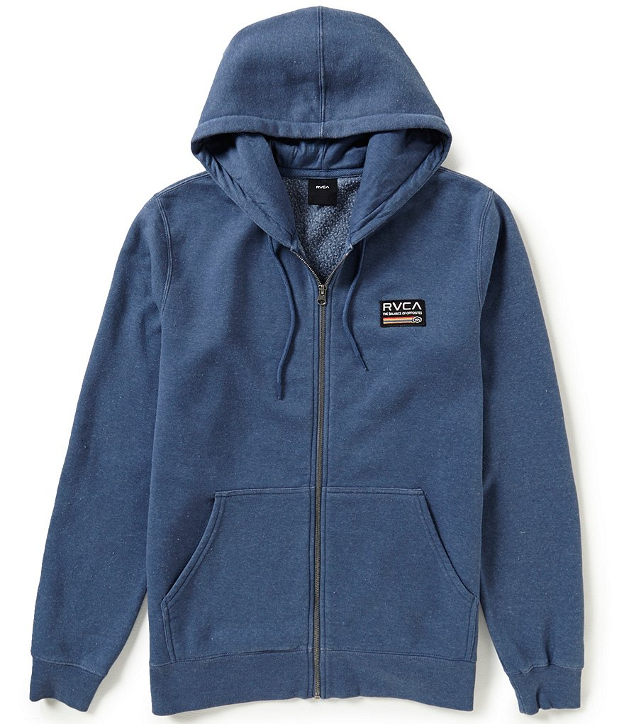 RVCA Mechanics Zip-Up Hoodie