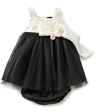 Chantilly Place Baby Girls 12-24 Months Color Block Ballerina Dress