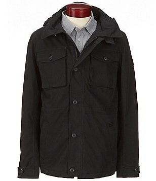 RVCA Systems Canvas Hooded Field Jacket