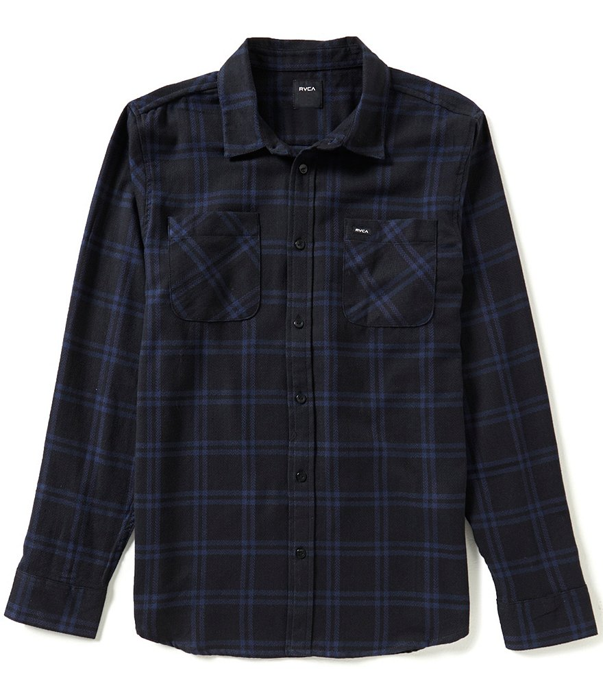 RVCA Payne Plaid Long-Sleeve Shirt