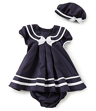 Rare Editions Baby Girls 12-24 Months Sailor Dress