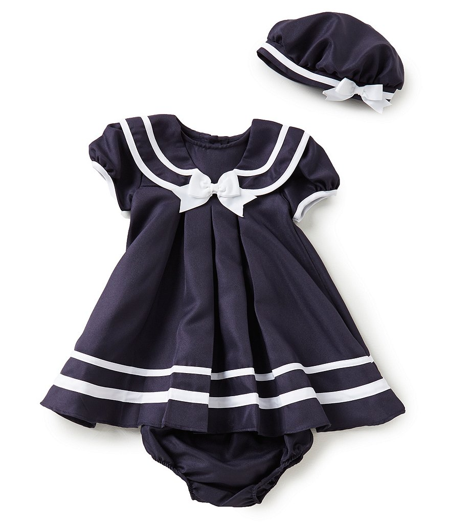 Rare Editions Baby Girls 12 24 Months Sailor Dress