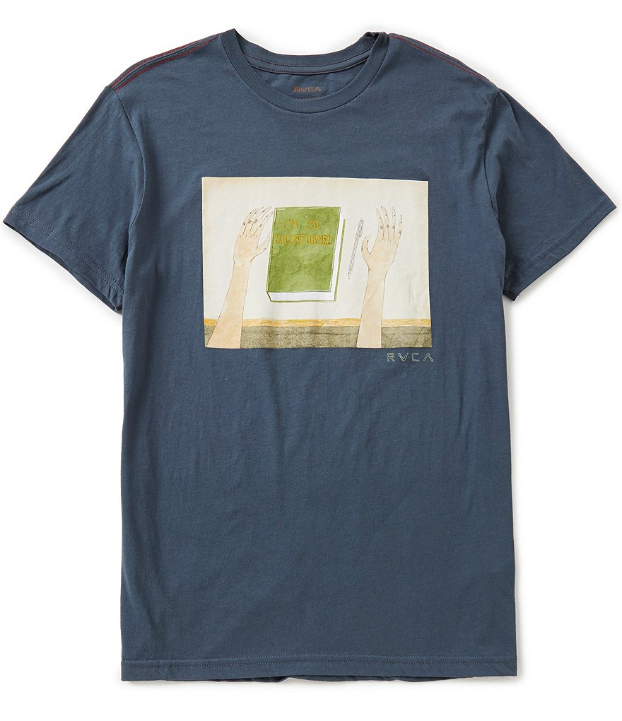 RVCA Uninformed Slim-Fit Graphic Tee