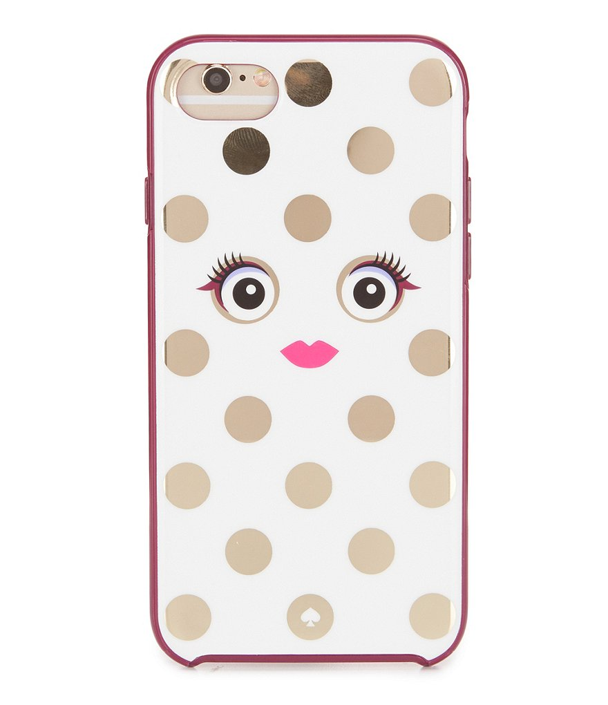 kate spade new york Framed Picture Polka Dotted Monster iPhone 7 Case