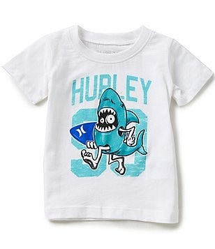 Hurley Baby Boys 12-24 Months Sharkey Short-Sleeve Tee