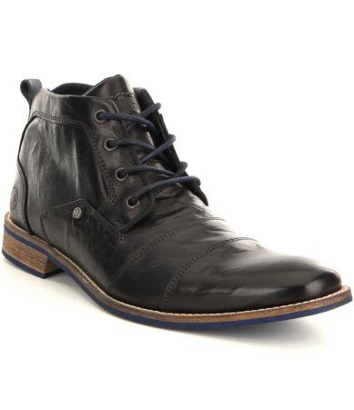 steve madden 180 s kramerr leather boots dillards