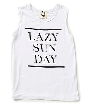 People´s Project LA Big Girls 7-16 Lazy Sunday Tank Top