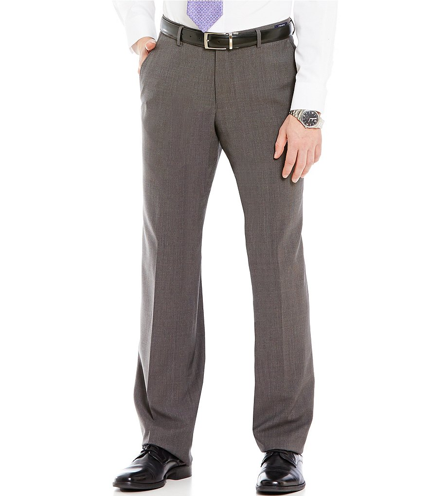 Cremieux Classic Fit Flat-Front Dress Pants