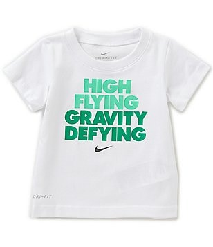 Nike Baby Boys 12-24 Months High Flying Gravity Defying Short-Sleeve Tee
