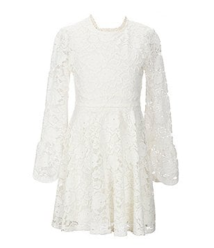 GB Girls Little Girls 4-6X Floral Lace Dress