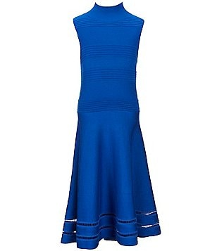 GB Girls Big Girls 7-16 Mockneck Fit-and-Flare Dress