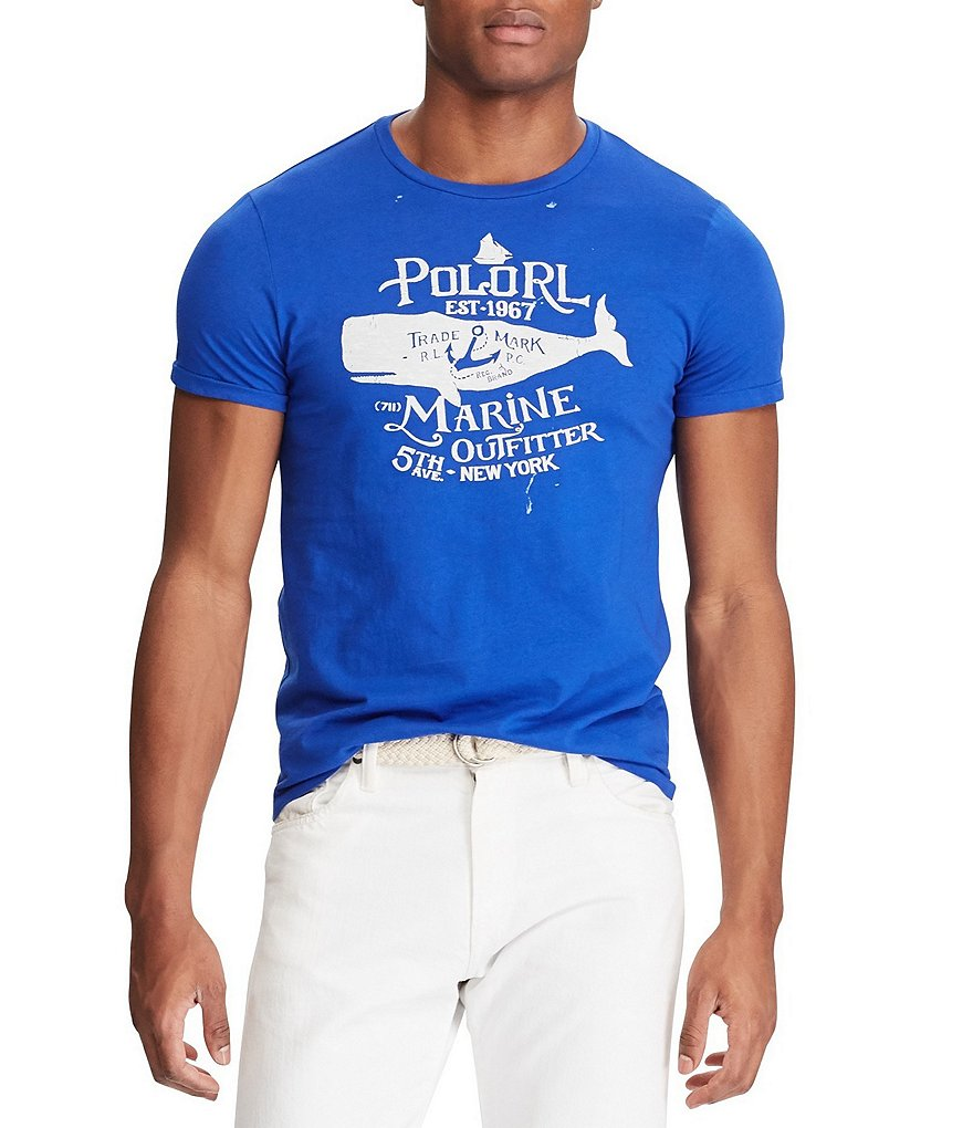 Polo Ralph Lauren Short-Sleeve Graphic Tee