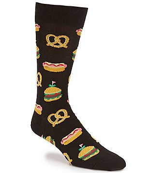 Hot Sox Street Food Crew Socks