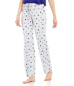 Jasmine & Ginger Dotted Jersey Sleep Pants
